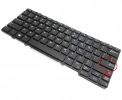 Tastatura Dell 03P2DR iluminata. Keyboard Dell 03P2DR. Tastaturi laptop Dell 03P2DR. Tastatura notebook Dell 03P2DR