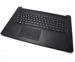 Tastatura HP 17T-BY Neagra cu Palmrest Negru si TouchPad iluminata backlit. Keyboard HP 17T-BY Neagra cu Palmrest Negru si TouchPad. Tastaturi laptop HP 17T-BY Neagra cu Palmrest Negru si TouchPad. Tastatura notebook HP 17T-BY Neagra cu Palmrest Negru si TouchPad