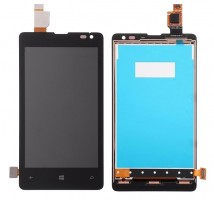 Ansamblu Display LCD + Touchscreen Nokia Lumia 435. Ecran + Digitizer Nokia Lumia 435