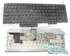 Tastatura Lenovo Thinkpad Edge E545. Keyboard Lenovo Thinkpad Edge E545. Tastaturi laptop Lenovo Thinkpad Edge E545. Tastatura notebook Lenovo Thinkpad Edge E545