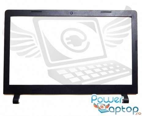 Bezel Front Cover Lenovo IdeaPad 100-15IBY. Rama Display Lenovo IdeaPad 100-15IBY Neagra