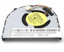 Cooler laptop Packard Bell Easynote LJ77. Ventilator procesor Packard Bell Easynote LJ77. Sistem racire laptop Packard Bell Easynote LJ77
