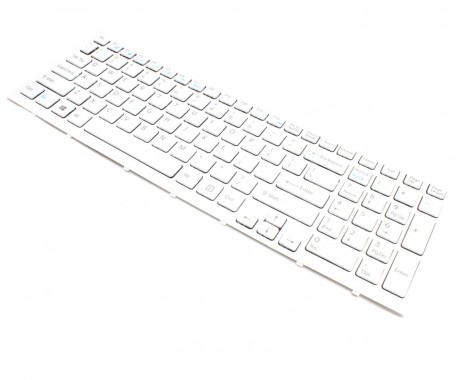 Tastatura Sony Vaio VPC-EH1S1E VPCEH1S1E alba. Keyboard Sony Vaio VPC-EH1S1E VPCEH1S1E alba. Tastaturi laptop Sony Vaio VPC-EH1S1E VPCEH1S1E alba. Tastatura notebook Sony Vaio VPC-EH1S1E VPCEH1S1E alba
