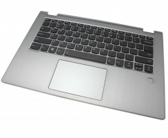 Tastatura Lenovo AP173000900 Neagra cu Palmrest Argintiu iluminata backlit. Keyboard Lenovo AP173000900 Neagra cu Palmrest Argintiu. Tastaturi laptop Lenovo AP173000900 Neagra cu Palmrest Argintiu. Tastatura notebook Lenovo AP173000900 Neagra cu Palmrest Argintiu