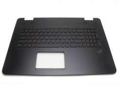 Palmrest Asus  90NB0756 R31UI0 cu tastatura. Carcasa Superioara Asus  90NB0756 R31UI0 Negru