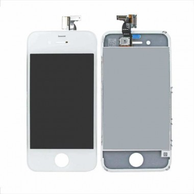 Ansamblu Display LCD + Touchscreen Apple iPhone 4 Alb White . Ecran + Digitizer Apple iPhone 4 Alb White