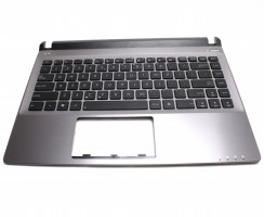 Tastatura Asus U32U neagra cu Palmrest gri. Keyboard Asus U32U neagra cu Palmrest gri. Tastaturi laptop Asus U32U neagra cu Palmrest gri. Tastatura notebook Asus U32U neagra cu Palmrest gri