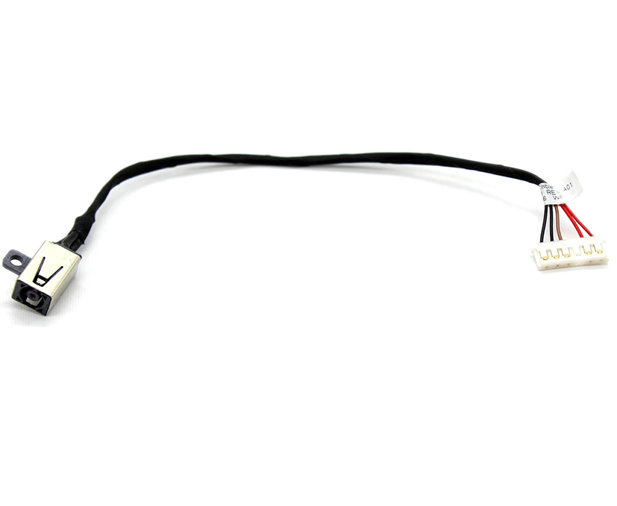 Mufa alimentare laptop Dell Inspiron 15 5551 cu fir imagine powerlaptop.ro 2021