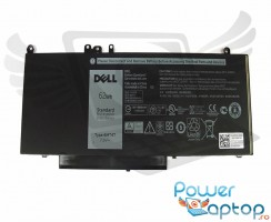 Baterie Dell Latitude E5570 Originala 62Wh. Acumulator Dell Latitude E5570. Baterie laptop Dell Latitude E5570. Acumulator laptop Dell Latitude E5570. Baterie notebook Dell Latitude E5570