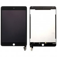 Ansamblu Display LCD  + Touchscreen Apple iPad mini 4 A1550 ORIGINAL Negru. Modul Ecran + Digitizer Apple iPad mini 4 A1550 ORIGINAL Negru