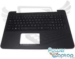 Tastatura Asus  X555LD cu Palmrest negru. Keyboard Asus  X555LD cu Palmrest negru. Tastaturi laptop Asus  X555LD cu Palmrest negru. Tastatura notebook Asus  X555LD cu Palmrest negru