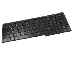 Tastatura Toshiba Satellite A500 neagra. Keyboard Toshiba Satellite A500 neagra. Tastaturi laptop Toshiba Satellite A500 neagra. Tastatura notebook Toshiba Satellite A500 neagra