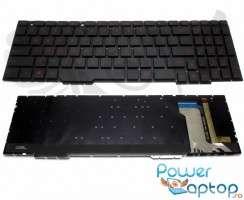 Tastatura Asus  0KNB0 66674US00 iluminata. Keyboard Asus  0KNB0 66674US00. Tastaturi laptop Asus  0KNB0 66674US00. Tastatura notebook Asus  0KNB0 66674US00