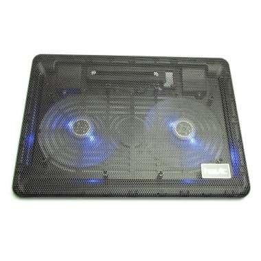 Cooler Stand Laptop Notebook Havit 2 Ventilatoare cu Slot USB si LED