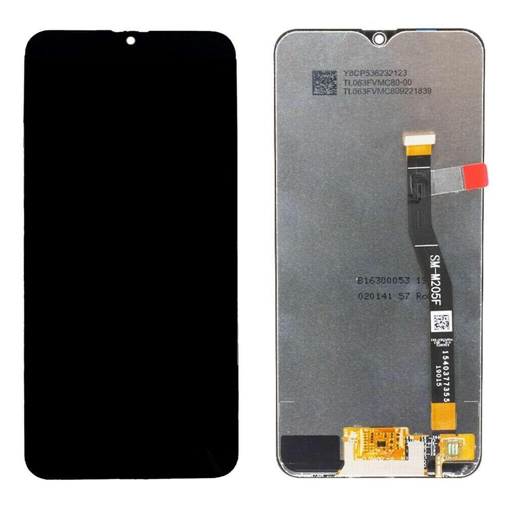 Display Samsung Galaxy M20 M205 Display TFT LCD Black Negru imagine powerlaptop.ro 2021