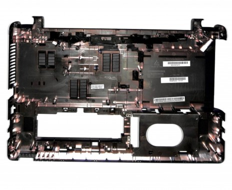 Bottom Packard Bell EasyNote TE69HW. Carcasa Inferioara Packard Bell EasyNote TE69HW Neagra