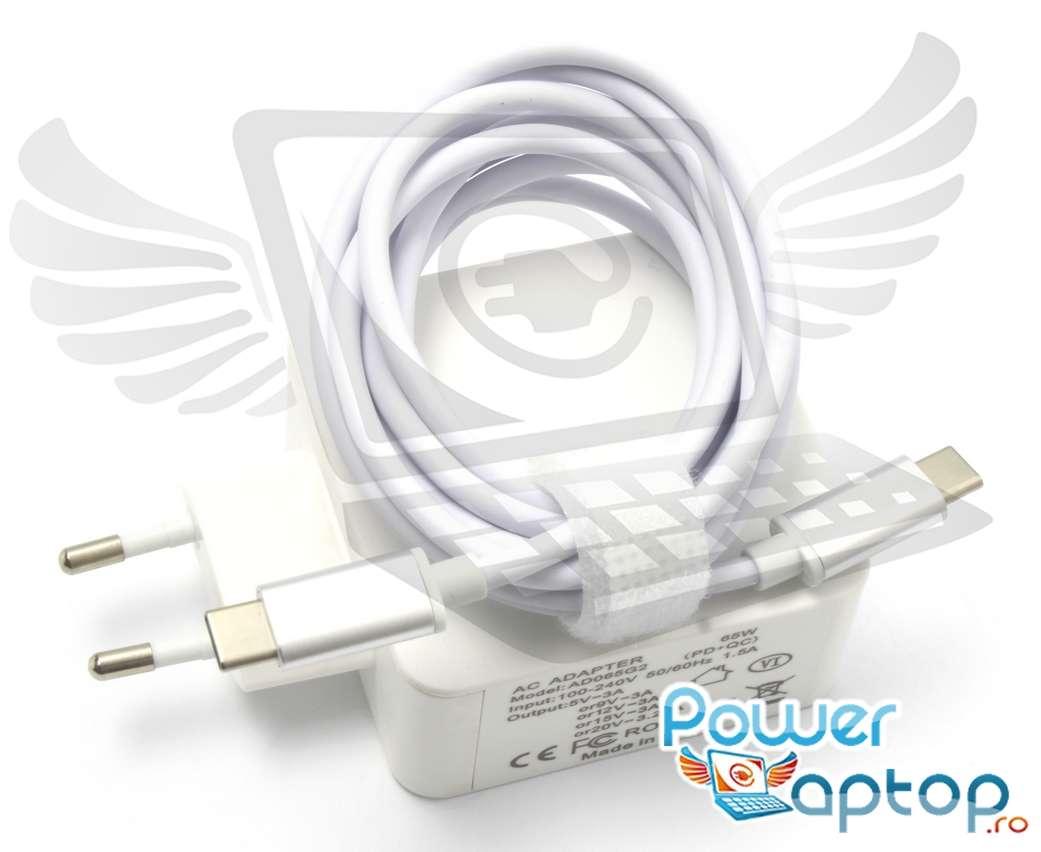 Incarcator USB C Toshiba Portege X20W D1252 65W Replacement imagine powerlaptop.ro 2021