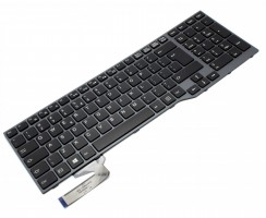 Tastatura Fujitsu Siemens LifeBook E756 iluminata backlit. Keyboard Fujitsu Siemens LifeBook E756 iluminata backlit. Tastaturi laptop Fujitsu Siemens LifeBook E756 iluminata backlit. Tastatura notebook Fujitsu Siemens LifeBook E756 iluminata backlit
