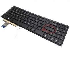 Tastatura Asus M580 iluminata. Keyboard Asus M580. Tastaturi laptop Asus M580. Tastatura notebook Asus M580