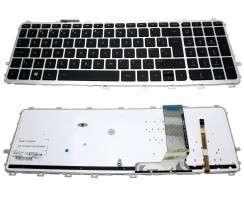 Tastatura HP Envy 15T-J iluminata backlit. Keyboard HP Envy 15T-J iluminata backlit. Tastaturi laptop HP Envy 15T-J iluminata backlit. Tastatura notebook HP Envy 15T-J iluminata backlit