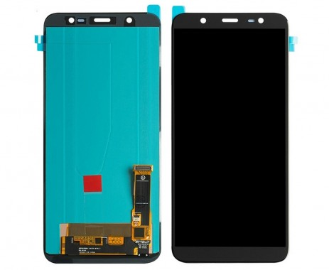 Ansamblu Display LCD + Touchscreen Samsung Galaxy J8 2018 J810 Black Negru . Ecran + Digitizer Samsung Galaxy J8 2018 J810 Negru Black