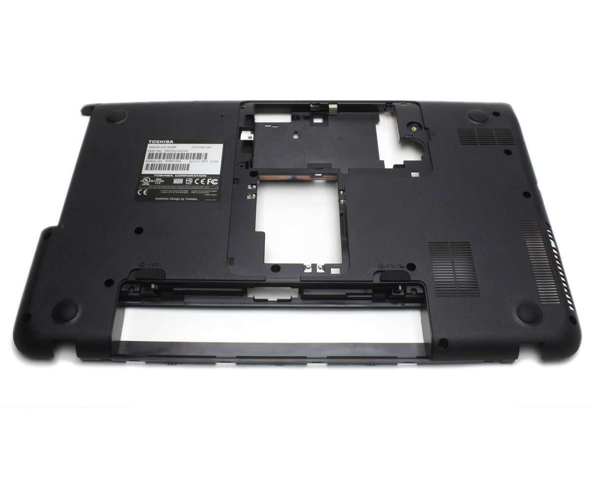 Bottom Case Toshiba Satellite V000320280 Carcasa Inferioara Neagra imagine
