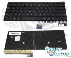 Tastatura Asus  UX305FA iluminata. Keyboard Asus  UX305FA. Tastaturi laptop Asus  UX305FA. Tastatura notebook Asus  UX305FA