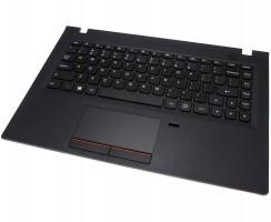 Tastatura Lenovo E31-70 Neagra cu Palmrest negru si Touchpad. Keyboard Lenovo E31-70 Neagra cu Palmrest negru si Touchpad. Tastaturi laptop Lenovo E31-70 Neagra cu Palmrest negru si Touchpad. Tastatura notebook Lenovo E31-70 Neagra cu Palmrest negru si Touchpad