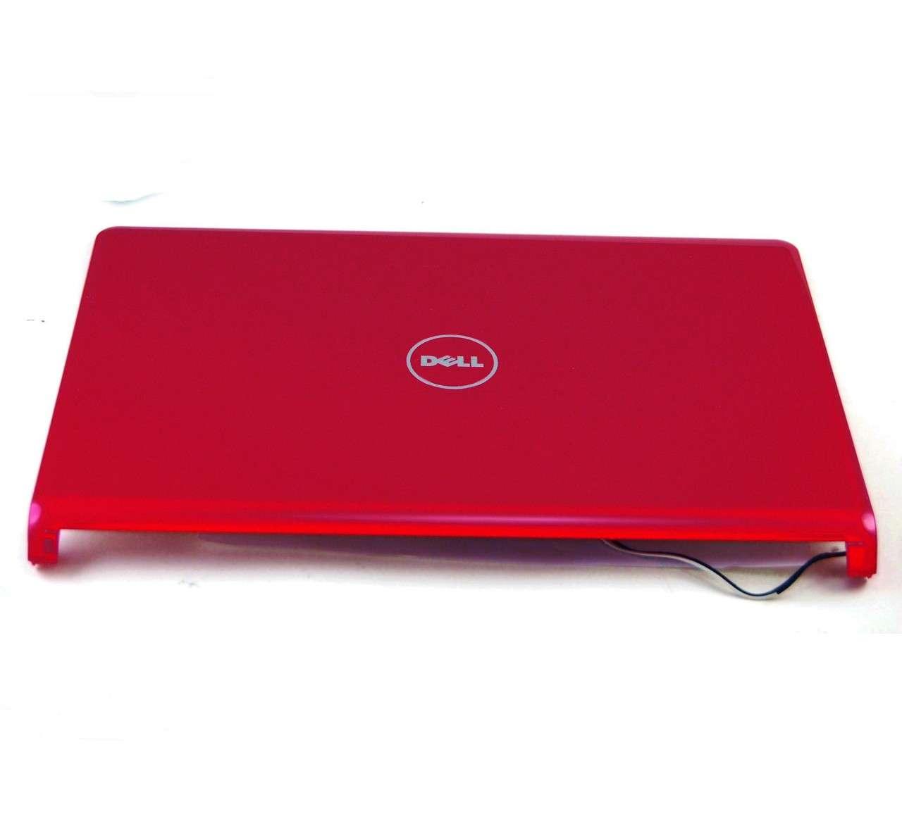 Capac Display BackCover Dell Inspiron 1564 Carcasa Display Rosu imagine powerlaptop.ro 2021