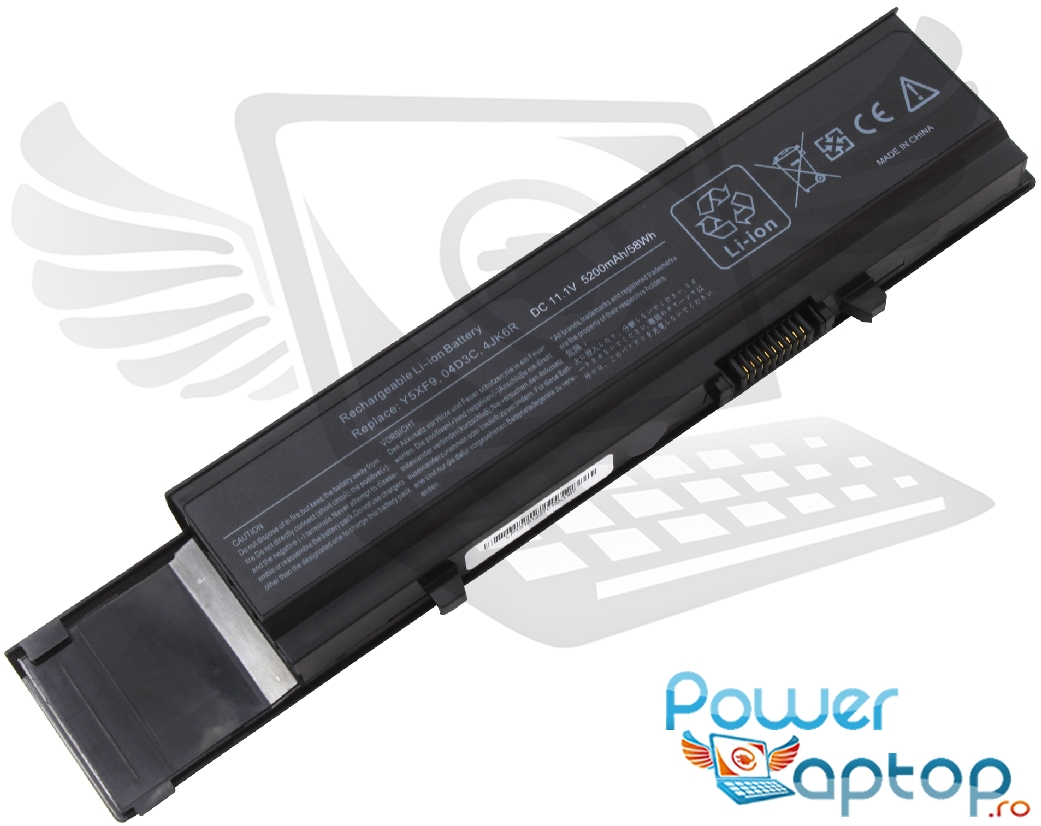 Baterie Dell 4JK6R 6 celule imagine powerlaptop.ro 2021