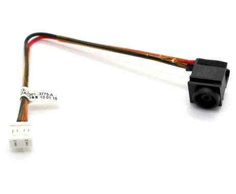 Mufa alimentare Sony Vaio VGN-NR cu fir . DC Jack Sony Vaio VGN-NR cu fir