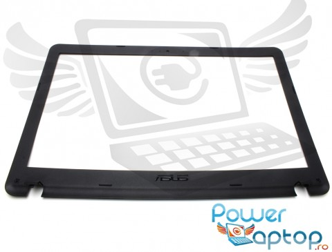 Bezel Front Cover Asus  A541. Rama Display Asus  A541 Neagra