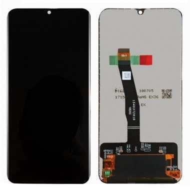 Ansamblu Display LCD + Touchscreen Huawei P Smart 2019 Black Negru . Ecran + Digitizer Huawei P Smart 2019 Black Negru