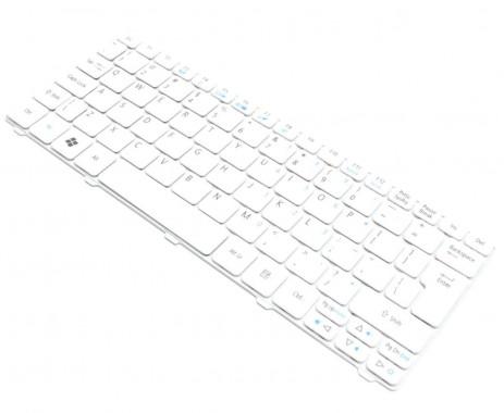 Tastatura Acer Aspire One 632h alba. Keyboard Acer Aspire One 632h alba. Tastaturi laptop Acer Aspire One 632h alba. Tastatura notebook Acer Aspire One 632h alba