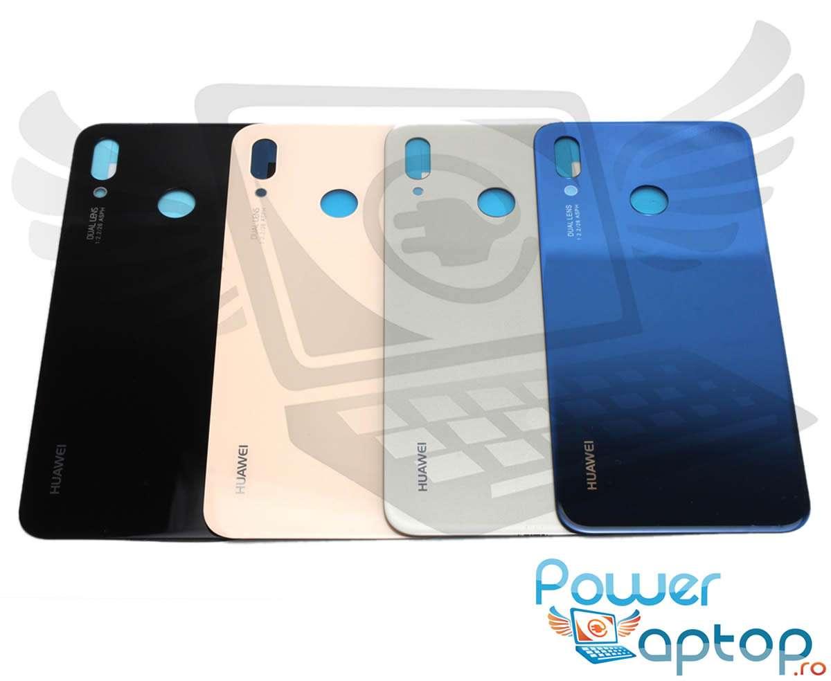 Capac Baterie Huawei P20 Lite Negru Black Capac Spate imagine powerlaptop.ro 2021