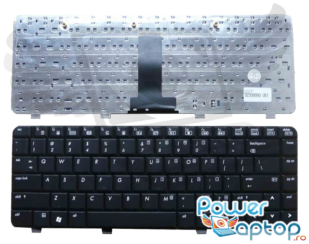 Tastatura HP Pavilion DV2570 neagra imagine
