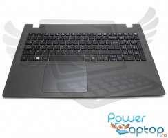 Palmrest Acer Aspire E5-573T. Carcasa Superioara Acer Aspire E5-573T Gri cu tastatura si touchpad inclus