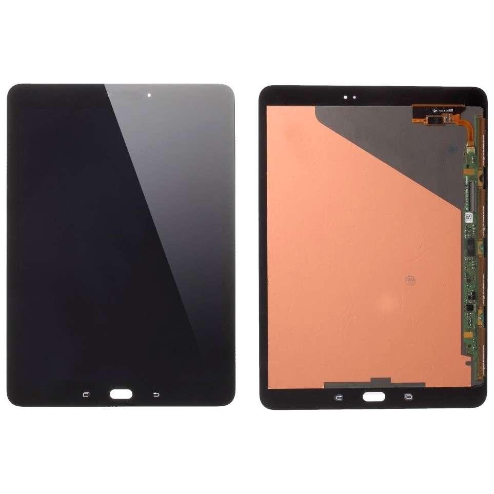 Ansamblu LCD Display Touchscreen Samsung Galaxy Tab S2 9.7 T815 Negru imagine powerlaptop.ro 2021