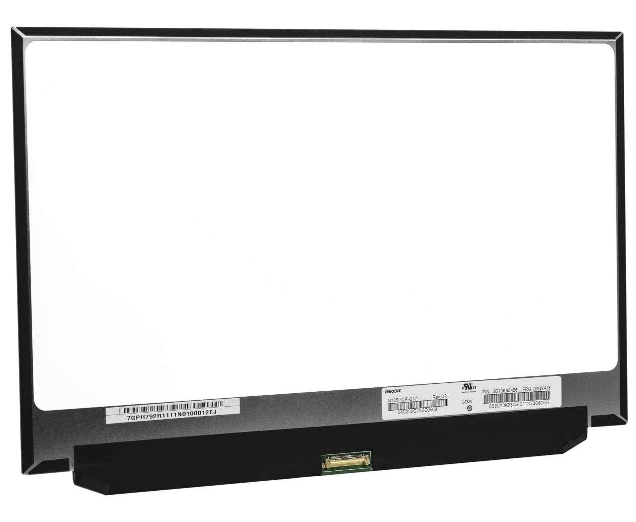 Display laptop Lenovo 01YN106 Ecran 12.5 1920x1080 30 pini eDP imagine powerlaptop.ro 2021