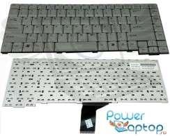 Tastatura Fujitsu Siemens  K7610W argintie. Keyboard Fujitsu Siemens  K7610W argintie. Tastaturi laptop Fujitsu Siemens  K7610W argintie. Tastatura notebook Fujitsu Siemens  K7610W argintie