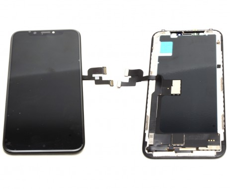 Ansamblu Display LCD + Touchscreen Apple iPhone X Negru Black High LED TFT Copy Calitate A+. Ecran + Digitizer Apple iPhone X Negru Black LED TFT High Copy Calitate A+