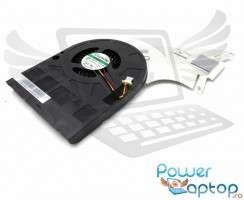 Cooler laptop Packard Bell EasyNote TE69BM. Ventilator procesor Packard Bell EasyNote TE69BM. Sistem racire laptop Packard Bell EasyNote TE69BM
