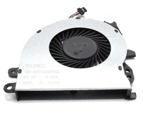 Cooler procesor CPU laptop HP 905774-001. Ventilator procesor HP 905774-001.