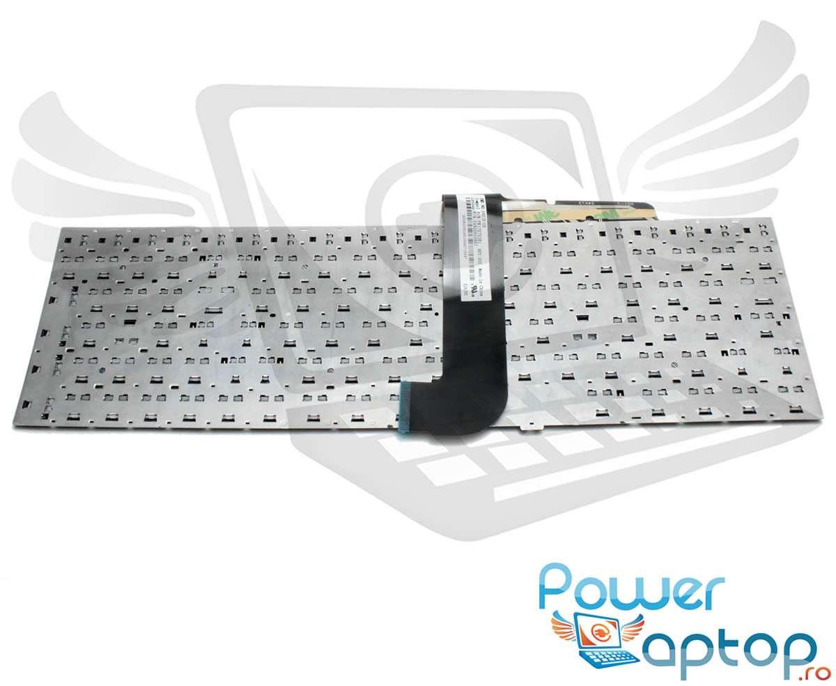 Tastatura Samsung V138502AS layout US fara rama enter mic imagine powerlaptop.ro 2021