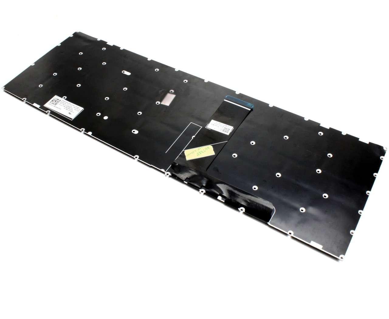 Tastatura Lenovo IdeaPad V330-15ISK Gri iluminata backlit