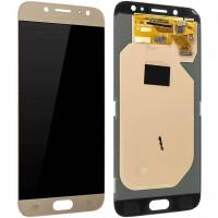 Ansamblu Display LCD + Touchscreen Original Service Pack Silver Samsung Galaxy J7 2017 J730 Gold Auriu. Ecran + Digitizer Original Service Pack Silver Samsung Galaxy J7 2017 J730 Gold Auriu