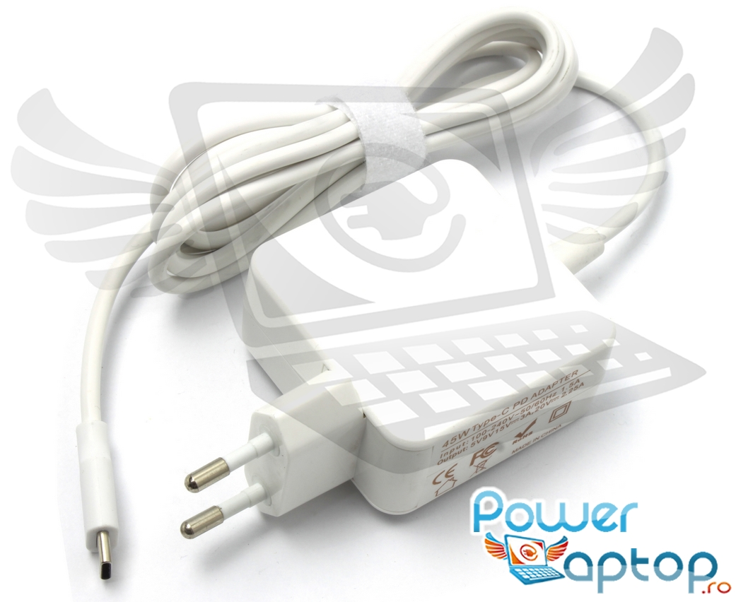 Incarcator USB C Apple MJ262LL A 45W Replacement imagine