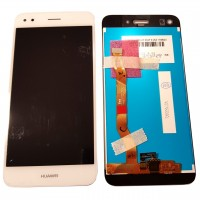 Ansamblu Display LCD + Touchscreen Huawei Y6 Pro 2017 White Alb . Ecran + Digitizer Huawei Y6 Pro 2017 White Alb