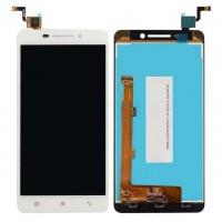 Ansamblu Display LCD  + Touchscreen Lenovo A5000 Alb. Modul Ecran + Digitizer Lenovo A5000 Alb