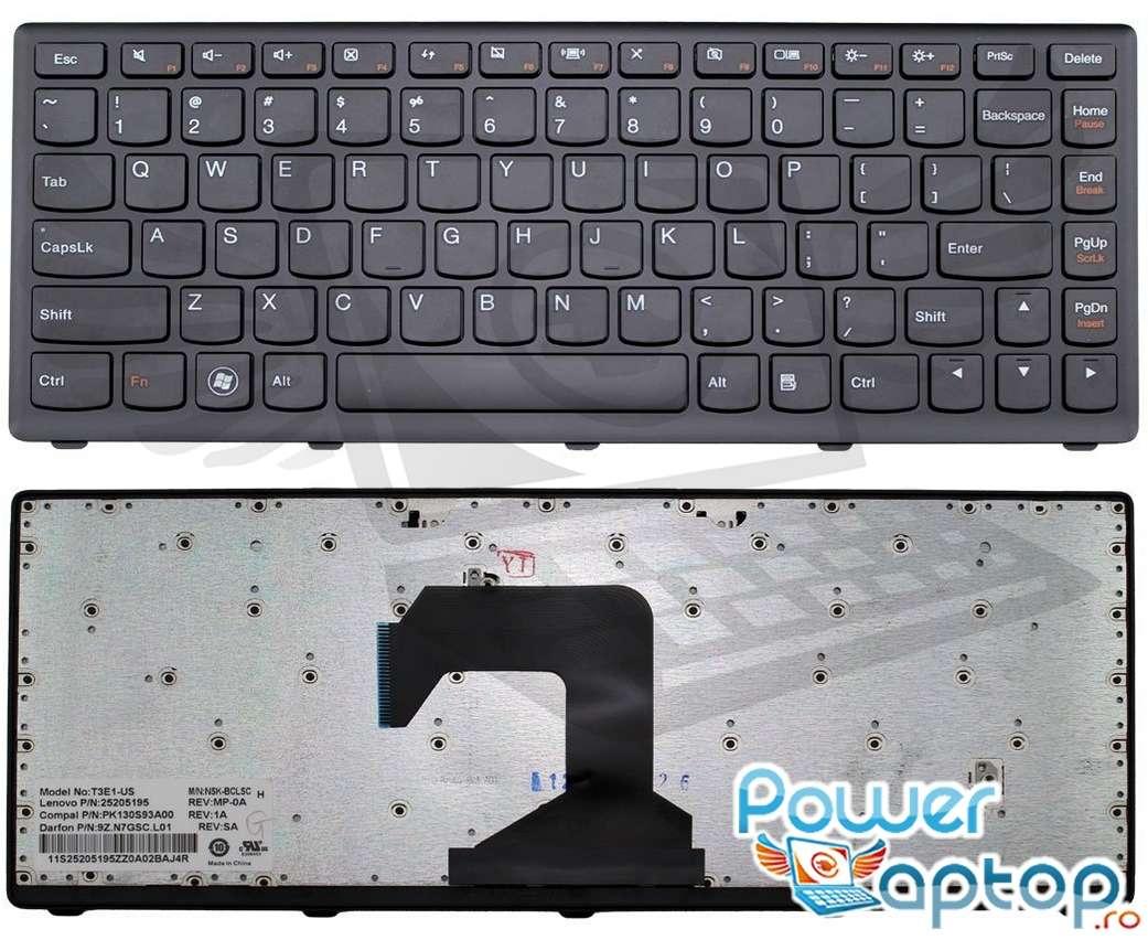 Tastatura Lenovo IdeaPad S400T Rama Neagra imagine
